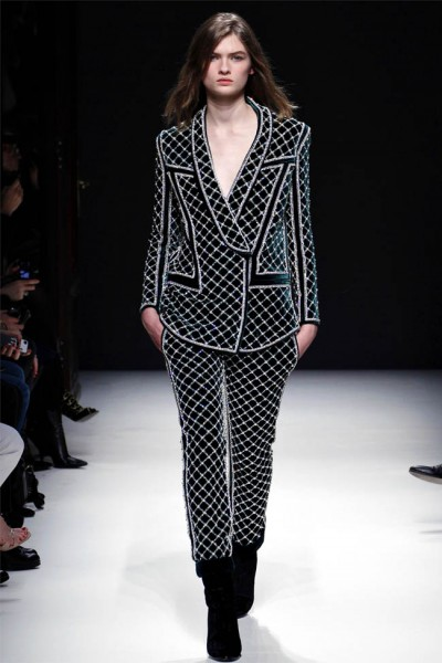 balmain7 400x600 Balmain Fall 2012 | Paris Fashion Week