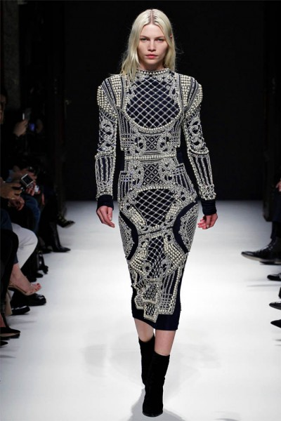 balmain9 400x600 Balmain Fall 2012 | Paris Fashion Week
