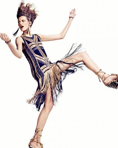 Bette Franke by Marc de Groot for Vogue Netherlands April 2012