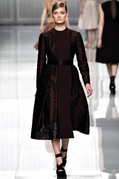 dior34 400x600 Christian Dior Fall 2012 | Paris Fashion Week