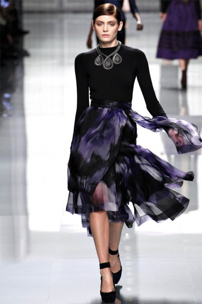 dior41 400x600 Christian Dior Fall 2012 | Paris Fashion Week