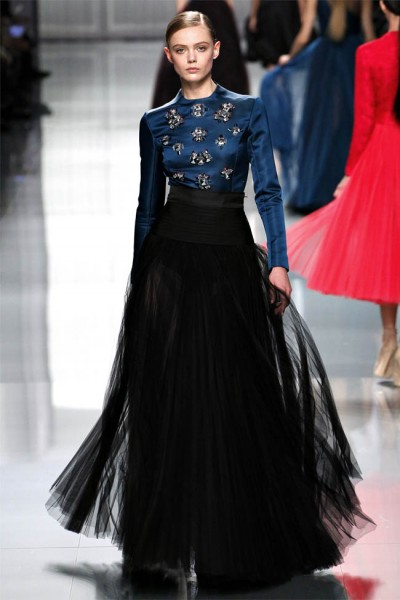 dior55 400x600 Christian Dior Fall 2012 | Paris Fashion Week