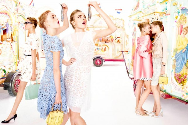 Ymre Stiekema, Josefien Rodermans, Romee Strijd & Others by Marc de Groot for Vogue Netherlands April 2012