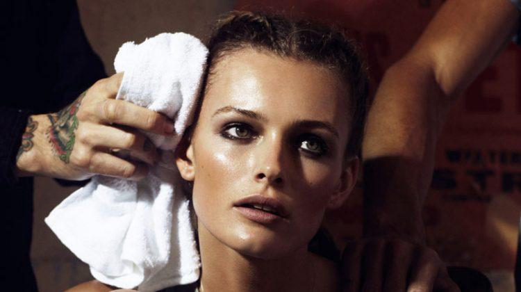 Edita Vilkeviciute by Lachlan Bailey for Vogue Paris April 2012
