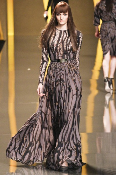 elie saab27 400x600 Elie Saab Fall 2012 | Paris Fashion Week