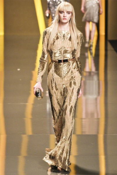 elie saab42 400x600 Elie Saab Fall 2012 | Paris Fashion Week
