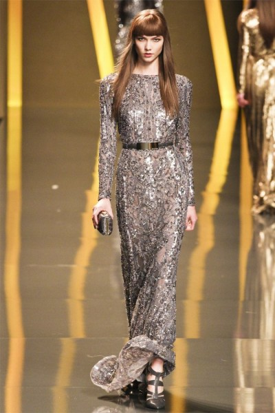 elie saab43 400x600 Elie Saab Fall 2012 | Paris Fashion Week