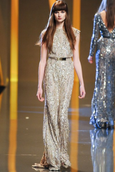 elie saab45 400x600 Elie Saab Fall 2012 | Paris Fashion Week