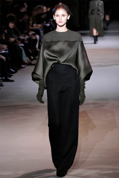 haider ackermann2 400x600 Haider Ackermann Fall 2012 | Paris Fashion Week