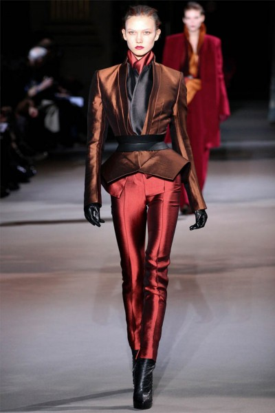 haider ackermann23 400x600 Haider Ackermann Fall 2012 | Paris Fashion Week