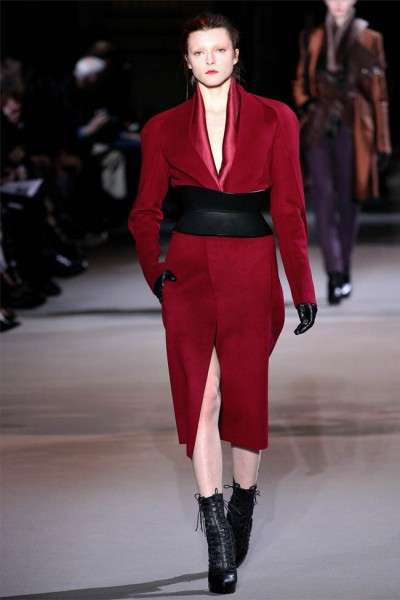 haider ackermann26 400x600 Haider Ackermann Fall 2012 | Paris Fashion Week