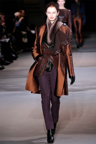 haider ackermann27 400x600 Haider Ackermann Fall 2012 | Paris Fashion Week