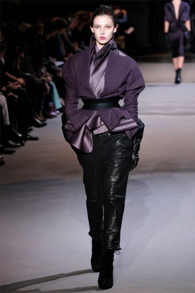 haider ackermann34 400x600 Haider Ackermann Fall 2012 | Paris Fashion Week