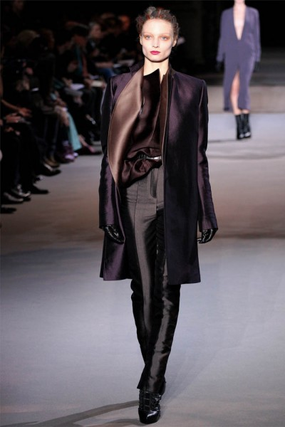 haider ackermann36 400x600 Haider Ackermann Fall 2012 | Paris Fashion Week
