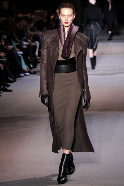 haider ackermann6 400x600 Haider Ackermann Fall 2012 | Paris Fashion Week