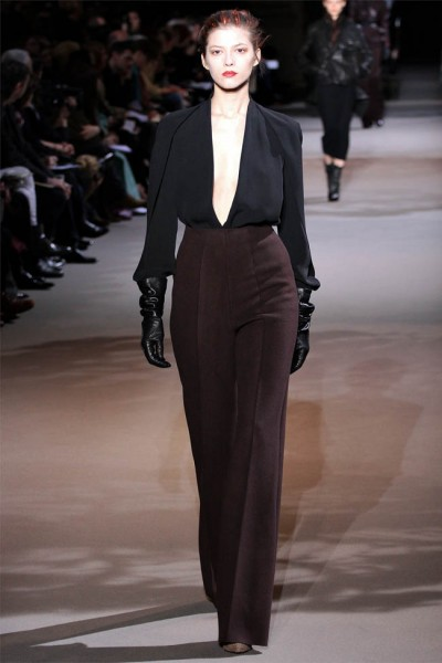 haider ackermann9 400x600 Haider Ackermann Fall 2012 | Paris Fashion Week