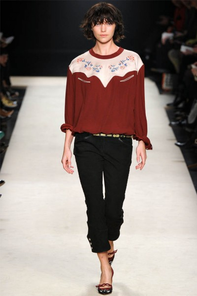 Isabel Marant Fall 2012 | Paris Fashion Week