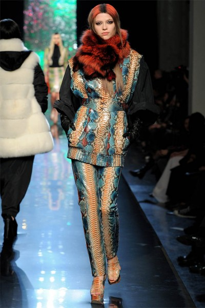 jean paul gaultier30 400x600 Jean Paul Gaultier Fall 2012 | Paris Fashion Week