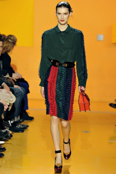 kenzo19 400x600 Kenzo Fall 2012 | Paris Fashion Week
