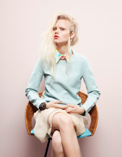 Lovisa Ekholm by Tina Luther for Grazia Germany