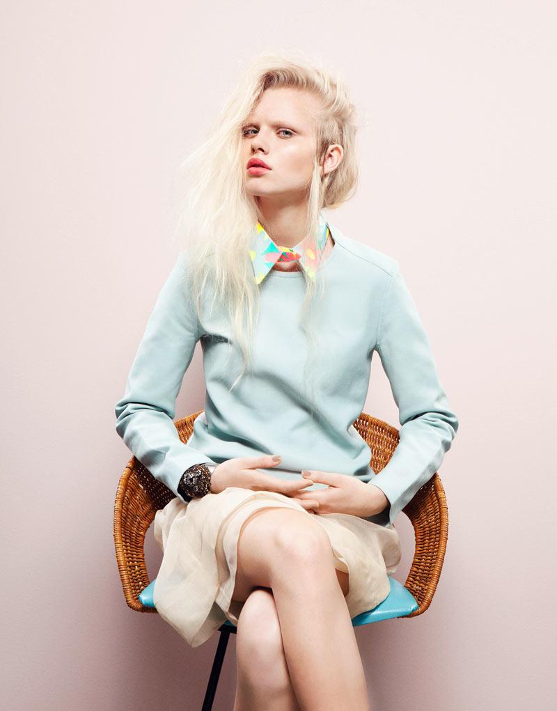 8a860780a Lovisa Ekholm by Tina Luther for Grazia Germany