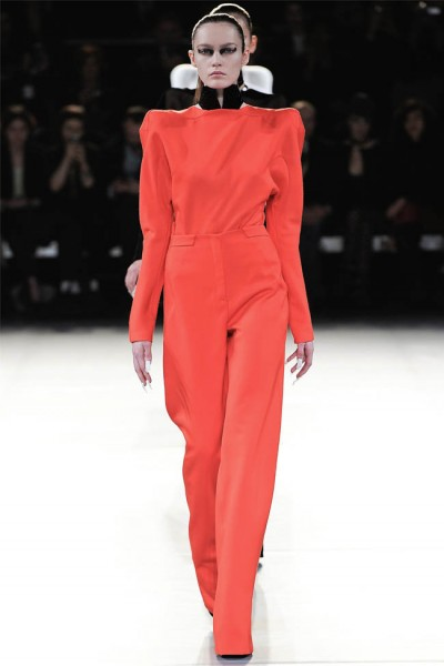mugler9 400x600 Mugler Fall 2012 | Paris Fashion Week