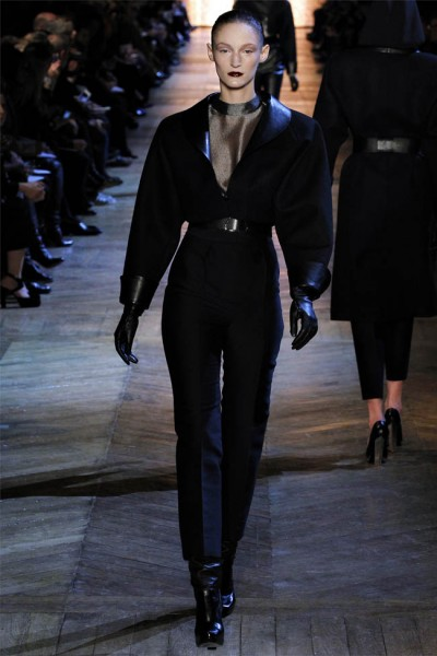 yves saint laurent2 400x600 Yves Saint Laurent Fall 2012 | Paris Fashion Week