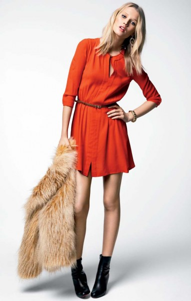 juicy couture11 382x600 Magdalena Frackowiak & Toni Garrn for Juicy Couture Fall 2012 Lookbook