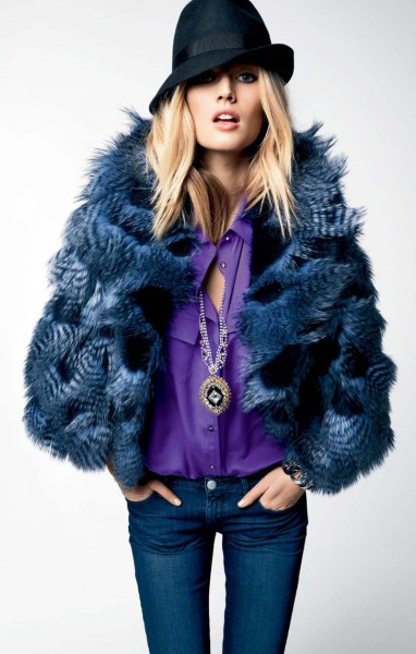 juicy couture13 382x600 Magdalena Frackowiak & Toni Garrn for Juicy Couture Fall 2012 Lookbook