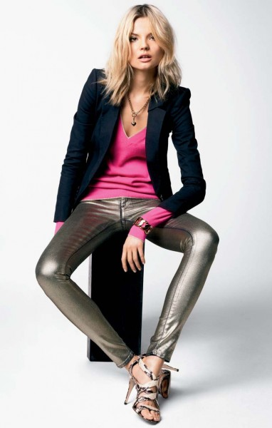 juicy couture22 382x600 Magdalena Frackowiak & Toni Garrn for Juicy Couture Fall 2012 Lookbook