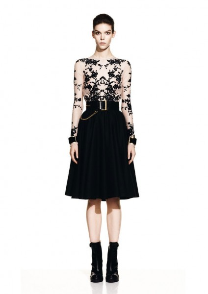 mcq12 424x600 Meghan Collison for McQ by Alexander McQueen Fall 2012 Lookbook
