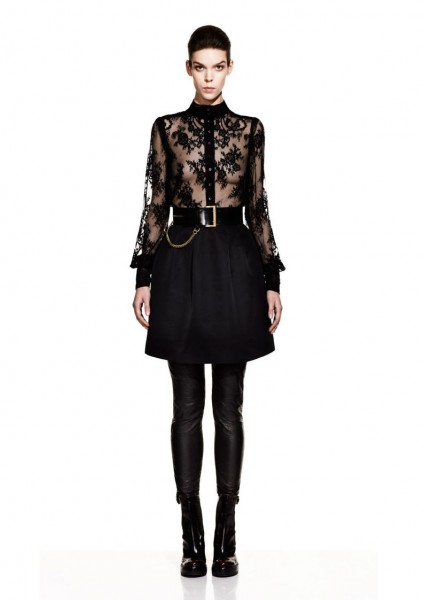 mcq16 424x600 Meghan Collison for McQ by Alexander McQueen Fall 2012 Lookbook