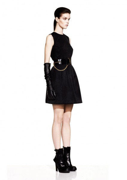 Meghan Collison for McQ by Alexander McQueen Fall 2012 Lookbook