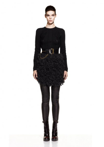 mcq20 424x600 Meghan Collison for McQ by Alexander McQueen Fall 2012 Lookbook