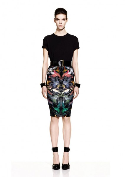 mcq25 424x600 Meghan Collison for McQ by Alexander McQueen Fall 2012 Lookbook