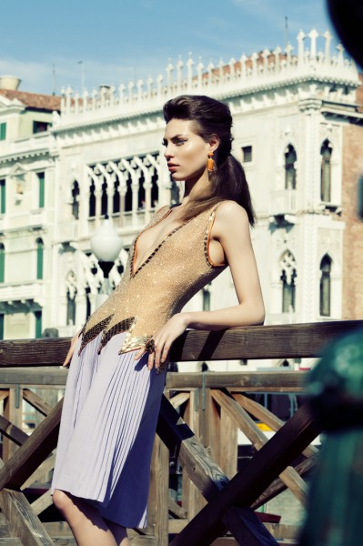 Viktorija by Santiago Ruisenor for Elle Mexico May 2012