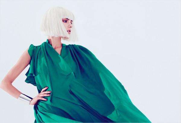 Ada Wrzesinska by Emre Guven for Harper's Bazaar Turkey April 2012