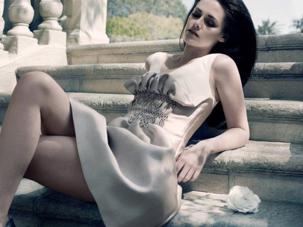 Kristen Stewart is Simply Elegant for Elle UK June 2012, Lensed by David Slijper