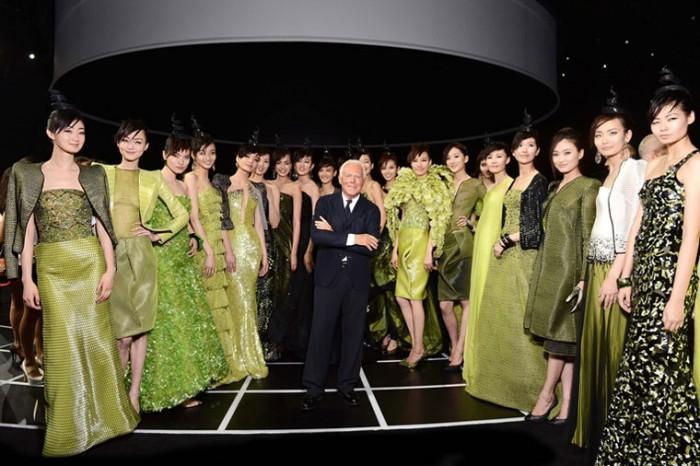 Giorgio Armani's Night in Beijing
