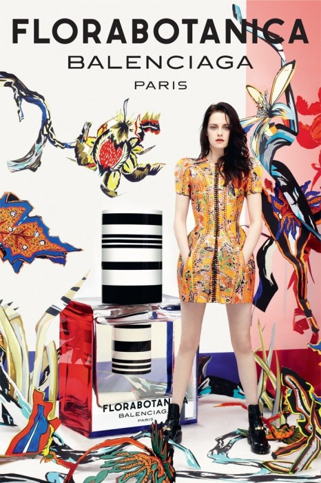 Kristen Stewart Fronts Balenciaga's 'Florabotanica' Fragrance Campaign by Steven Meisel