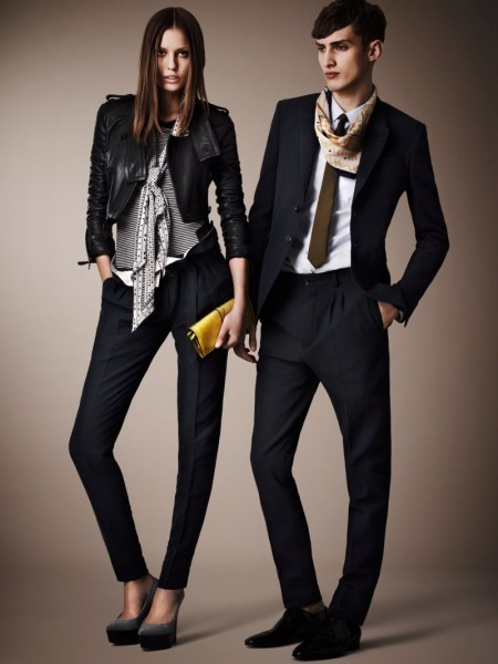 burberry resort1 450x600 Burberrys Resort 2013 Collection is Tailored for Ease