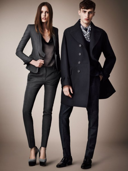 burberry resort2 450x600 Burberrys Resort 2013 Collection is Tailored for Ease