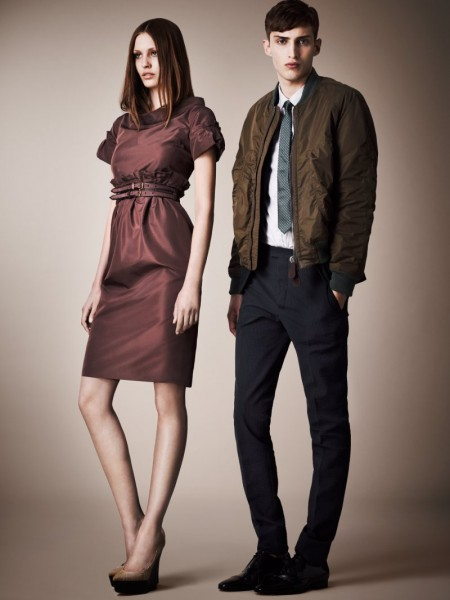 burberry resort9 450x600 Burberrys Resort 2013 Collection is Tailored for Ease