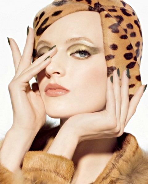 Daria Strokous Gets Wild for Dior's Golden Jungle Campaign
