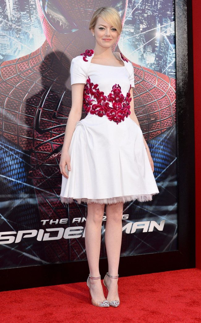 Emma Stone Enchants in Chanel at 'The Amazing Spider-Man' Los Angeles Premiere