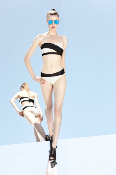 Herve Leger by Max Azria's Resort 2013 Collection is Comic Book Inspired