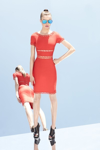 herve leger19 400x600 Herve Leger by Max Azrias Resort 2013 Collection is Comic Book Inspired