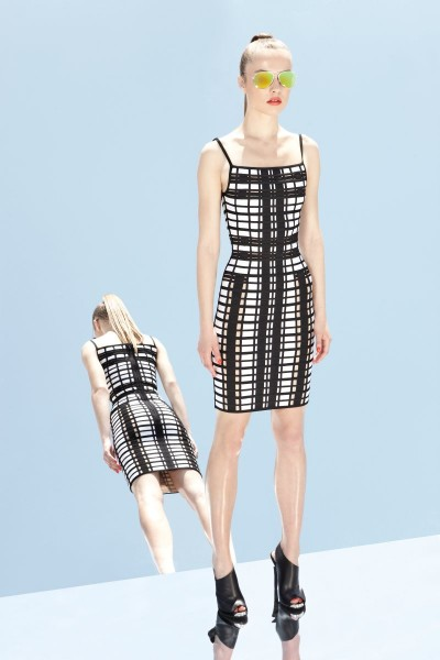 herve leger28 400x600 Herve Leger by Max Azrias Resort 2013 Collection is Comic Book Inspired