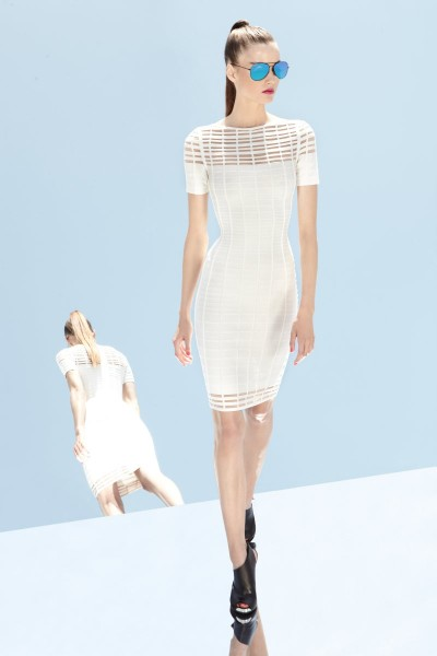 herve leger32 400x600 Herve Leger by Max Azrias Resort 2013 Collection is Comic Book Inspired