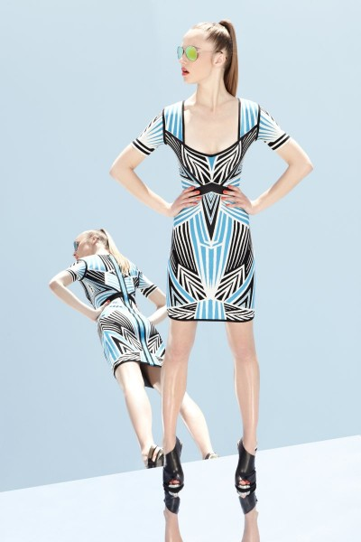 herve leger35 400x600 Herve Leger by Max Azrias Resort 2013 Collection is Comic Book Inspired